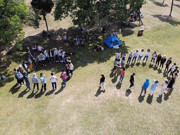 凝聚、沟通、合作——2019年郁金香yabo亚博88团队拓展活动圆满举行